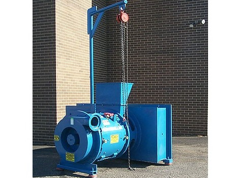 Horizontal Rotor Dryer