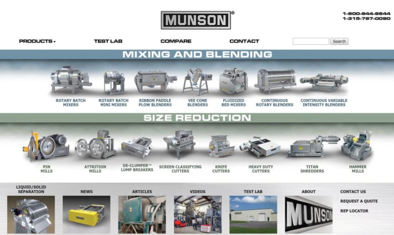 Munson Machinery Co., Inc.