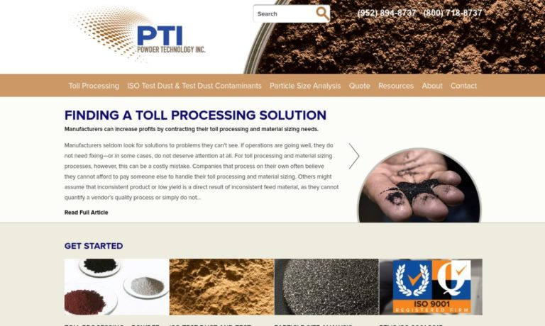 Powder Technology, Inc.